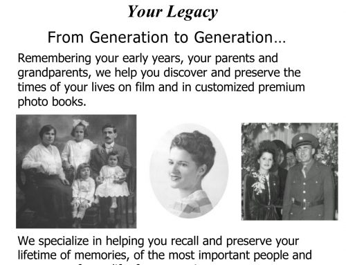 Family's Stories From One Generation To The Next…