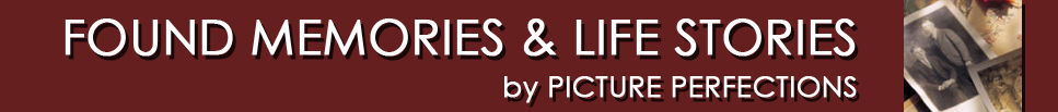 Found Memories & Life Stories by Picture Perfections Logo